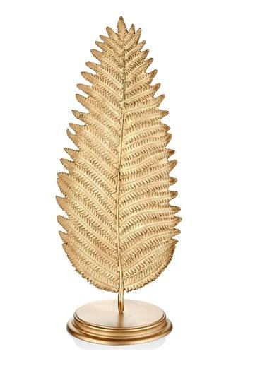 The Mia Yaprak Büyük (Standlı) Gold Altın